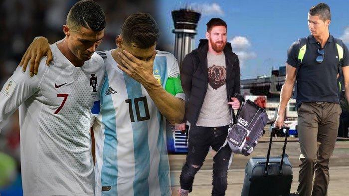 Cristiano Ronaldo dan Lionel Messi Tersingkir, Berikut Sederet Meme Kocak yang Hiasi Media Sosial