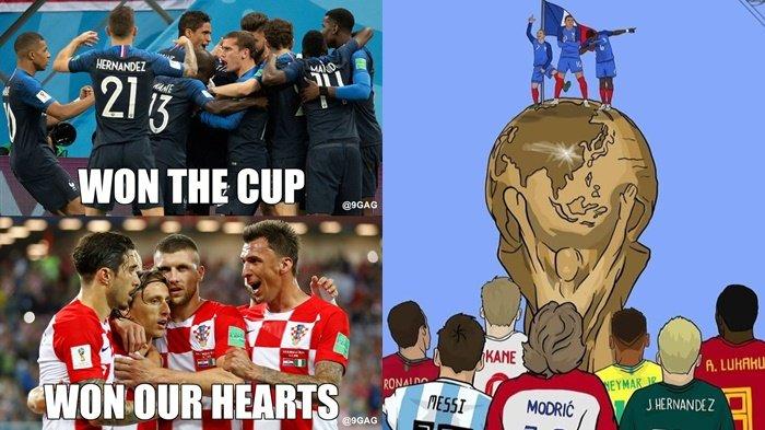 Prancis Raih Kemenangan, Intip Sederet Meme Usai Final Piala Dunia 2018, Nomor 9 Ngapain Tuh?