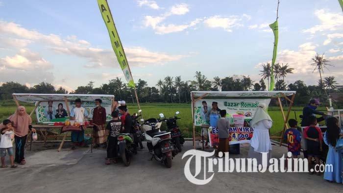 Menengok Bazar Ramadhan UMKM 2021 Bondowoso, Beli Takjil Sambil Menikmati Pemandangan Hamparan Sawah