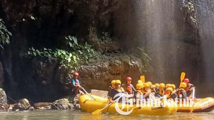 Serunya Berwisata di Pekalen Rafting, Nikmati Arung Jeram di Tengah Suasana Alam Asri Probolinggo