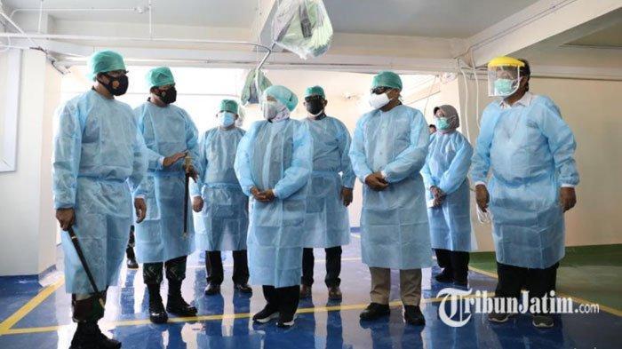 Gedung Parkir RSUD Dr Soetomo Alih Fungsi Jadi Ruang HCU dan ICU Covid-19, Berkapasitas 200 Pasien