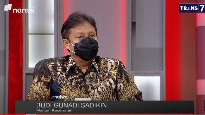 Menkes Budi Gunadi di acara Mata Najwa