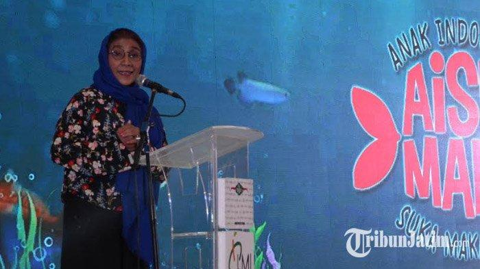 Menteri Susi Ajak Anak Jatim Wujudkan Budaya Makan Ikan, Beberkan Manfaat dan Kandungan Gizinya