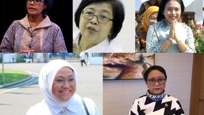 Profil 5 Menteri Perempuan di Kabinet Jokowi Jilid 2, Ada yang Mantan Guru hingga Hobi Tenis