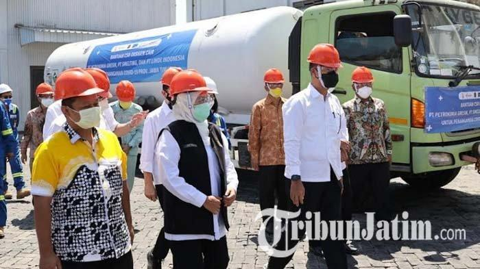Kunjungi PT Smelting Gresik, Menperin Agus Gumiwang Pastikan Naker Sektor Industri Tervaksinasi