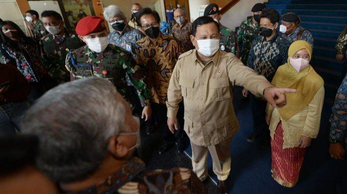 Menhan RI, Prabowo Subianto Kunjungi ITS Karena Tertarik Teknologi Anak Bangsa