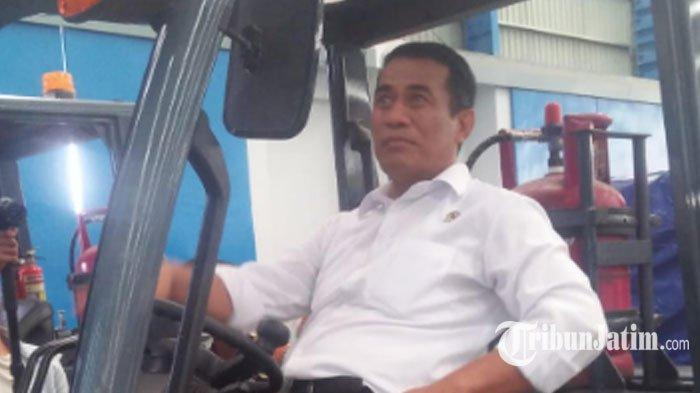 Tips Sehat Ala Andi Amran Sulaiman Menteri Pertanian RI,Tiap Hari Harus Rutin Minum Pil 'Sabar'