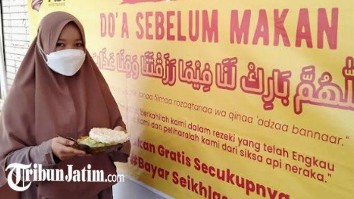 Warung Makan Gratis di Kabupaten Kediri Buka di Tengah Pandemi Covid-19, Siapapun Boleh Mampir