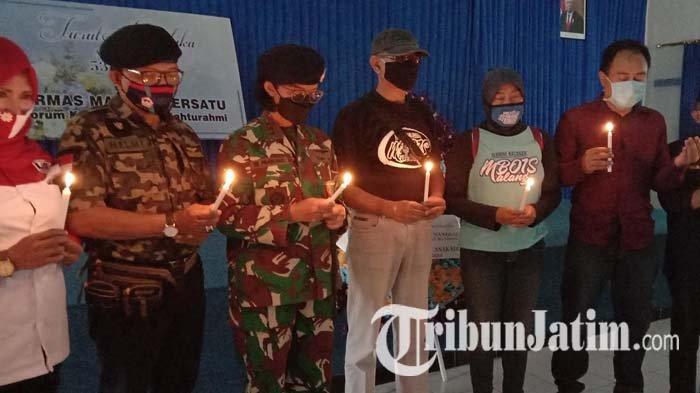 Sampaikan Dukacita atas Musibah KRI Nanggala 402, Ormas Malang Bersatu Kunjungi Pangkalan TNI AL