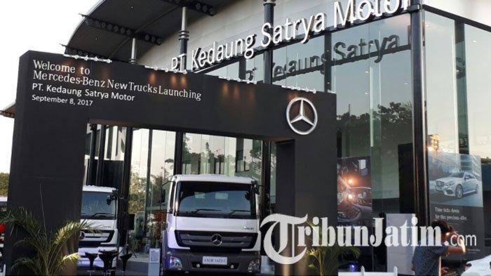 Mercedes-Benz Hadirkan New Axor 16 T Sebagai Jawaban Kebutuhan Industri di Surabaya