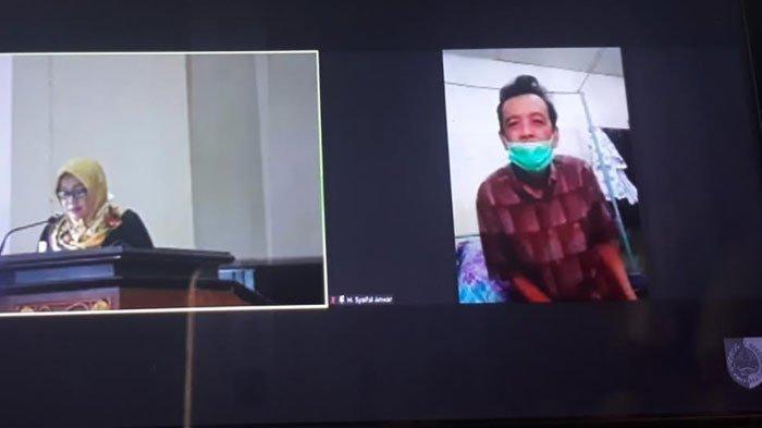 Meski Dirawat di RS, Anggota DPRD Jember Tetap Ikut Rapat Paripurna Secara Daring