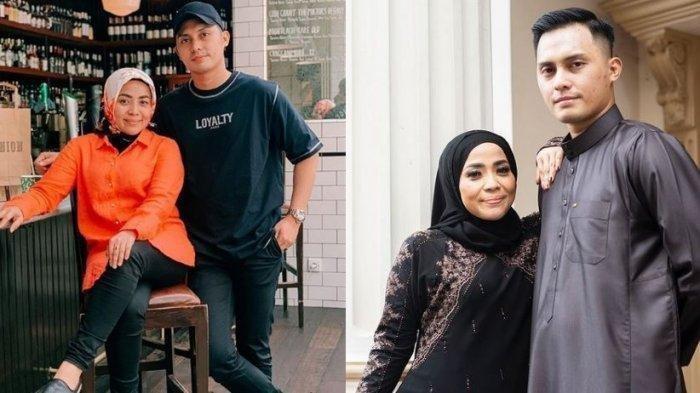 Mesranya Muzdalifah dan suami berondongnya, Fadel Islami. Kian romantis.