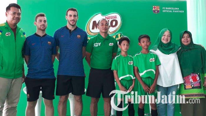 Berburu Bibit Unggul di Surabaya, 380 Peserta MILO Football Championship Pukau Pelatih FCB Escola