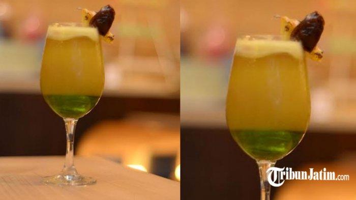 Resep Healthy Juice Paduan Nanas, Melon dan Kurma, Manis Asam, Cocok Disajikan Saat Lebaran