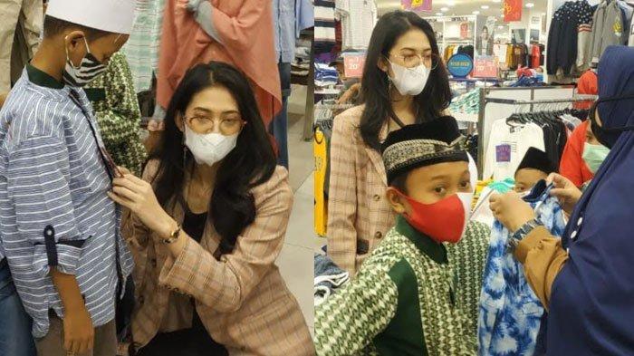 Cara Miss Supermodel Worldwide Indonesia Asal Kediri Tutup Ramadan, Ajak Yatim Belanja Baju Lebaran