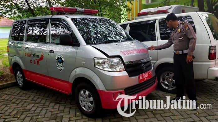 Terburu-buru Bawa Pasien, Mobil Ambulans Tabrak Pengendara Motor di Madiun, Korban Luka-luka