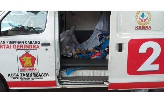 6 FAKTA BARU Ambulans Berlogo Gerindra Bawa Batu, Tunggak Pajak hingga Fadli Zon Sebut Settingan