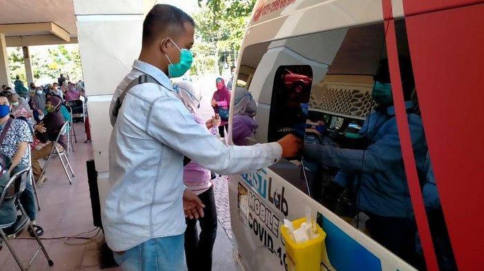 2 Mobil PCR BNPB Singgah Lagi ke Surabaya, Risma Bakal Gencar Tes Swab Massal: Reagen Kita Besar