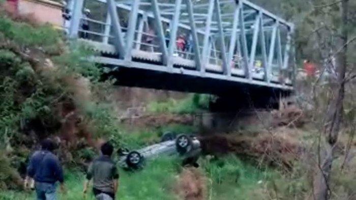 Nissan X-trail Masuk Jurang Sedalam 15 Meter, Begini Nasib Istri Ketua Nasdem Kabupaten Magetan