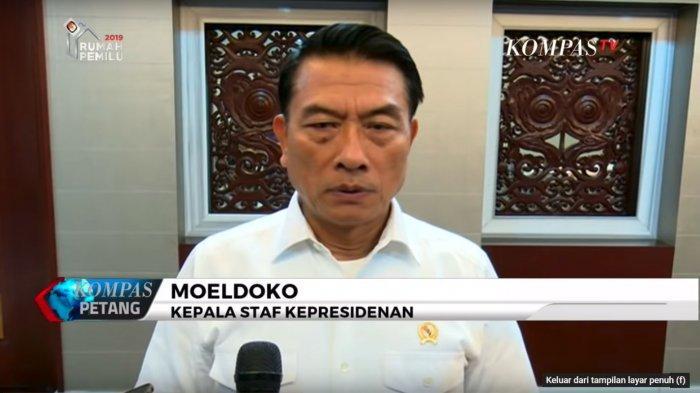 Sebut Keponakan Mahfud MD Bohong di Sidang MK, Moeldoko Beri Respon yang Buat Penonton Terpingkal