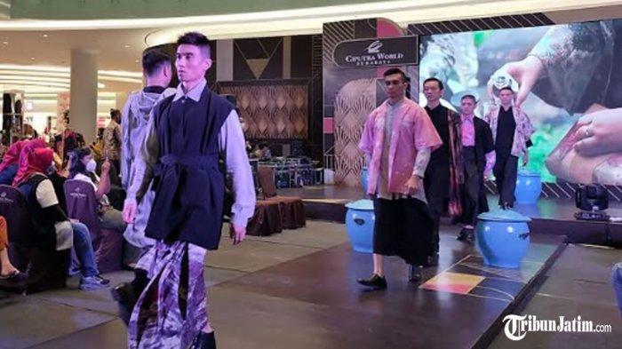 Busana Rancangan Anak Berkebutuhan Khusus Diperagakan Finalis Most Man, DWP Kota Surabaya Apresiasi