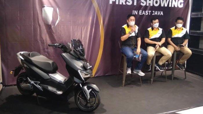 United Bike Luncurkan Motor Listrik T1800, Sudah Hadir di Surabaya, Intip Spek dan Harganya