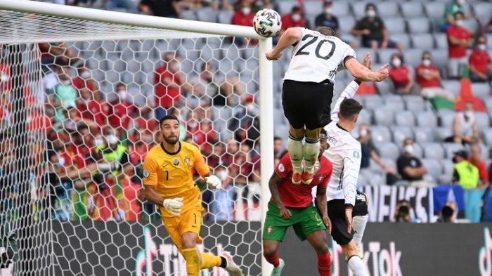 Rekap Hasil Euro 2020 - Spanyol dan Prancis Kompak Gagal Menang, Jerman Bungkam Portugal