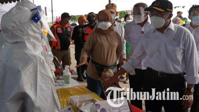 Tinjau Penyekatan di Madura, Menko PMK Muhadjir Effendy: Gak Ada Niat Mempersulit