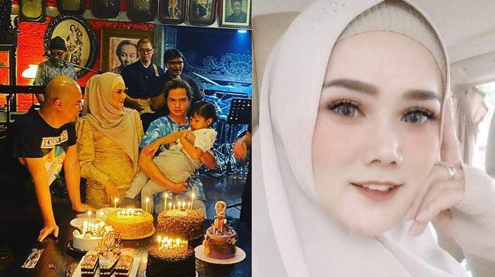 Ultah Dul Jaelani dan Mulan Jameela Dirayakan Bersama, Perut Istri Ahmad Dhani Disorot, Hamil Lagi?