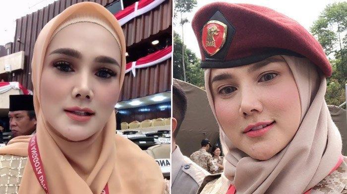 Dilantik Jadi Anggota DPR, Mulan Jameela Pakai Baju Bodo Karya Desainer Ternama: Doakan Saya Amanah