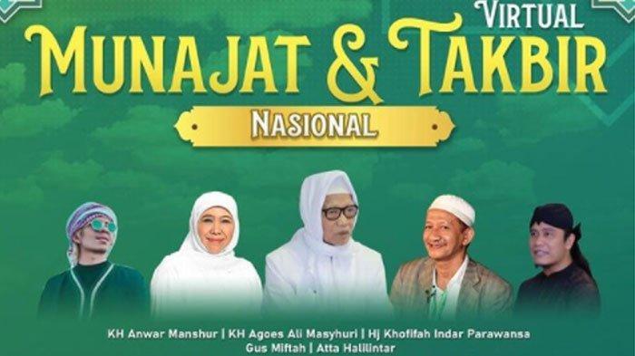 Masjid Al Akbar Surabaya Gelar Munajat & Takbir Virtual, Dimeriahkan Atta Halilintar dan Gus Miftah
