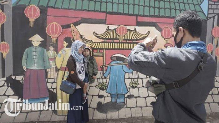 500 Lampion Percantik Wisata Kampung Pecinan Surabaya, Suasana Khas Tiongkok: Cocok Buat Foto