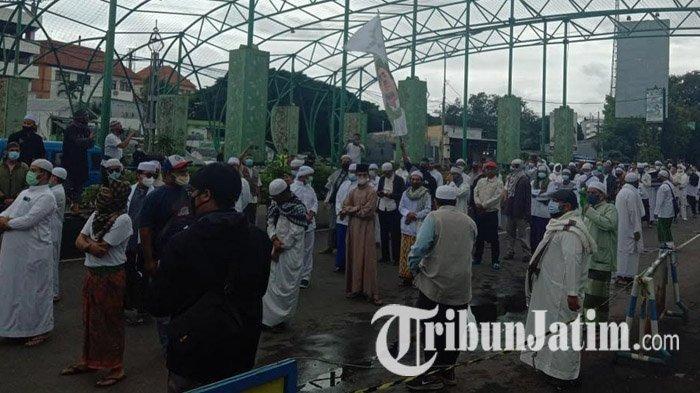 Muslim Malang Bersatu Minta Rizieq Shihab Dibebaskan dan Usut Tuntas Tewasnya 6 Anggota Laskar FPI