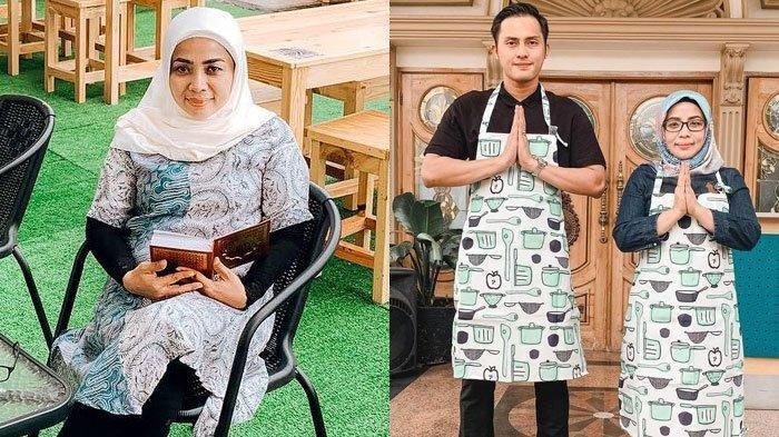 Muzdalifah dan Fadel Islami membuka warung Teras Muzda