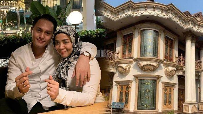 Ditawar Baim Wong Rp 40 Miliar, Inilah Potret Rumah Mewah Berlapis Emas Milik Muzdalifah: Bak Istana