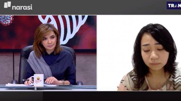 Najwa Shihab Diam Kehabisan Kata Dengar Curhat Pilu Cara Eva Makamkan Ortu Akibat Corona: Sedih