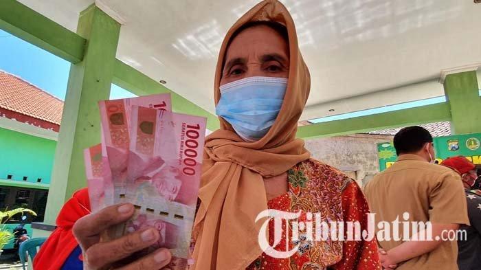 Nenek 64 Tahun di Kota Pasuruan Semringah Dapat Bantuan Uang Tunai dari Pemkot: Bisa Buat Beli Beras