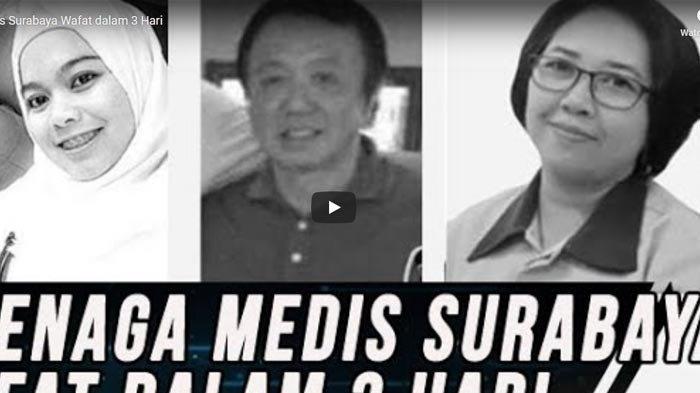NEWS VIDEO: 3 Tenaga Medis di Surabaya Meninggal Dalam Tiga Hari karena Corona, Inilah Sosoknya