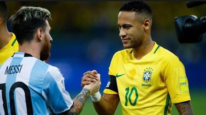 Neymar dan Messi Cetak Sejarah, Dua Bintang Amerika Latin Kompak Jadi Pemain Terbaik Copa America