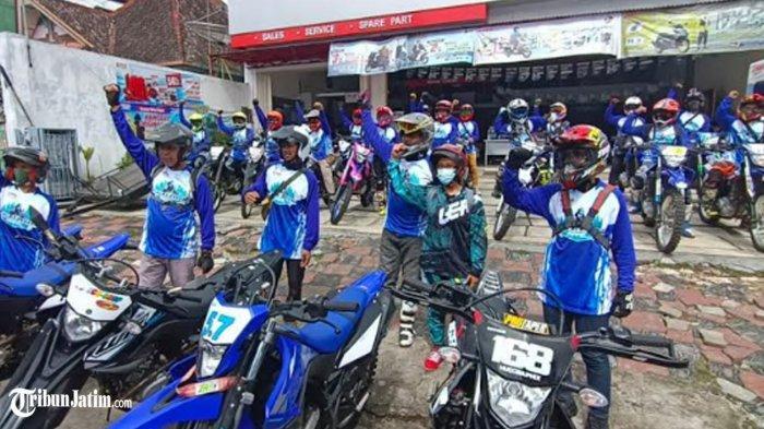Kembali 'Ngalas Bareng Yamaha WR 155', Digeber Gila-gilaan Trabas Alam Malang