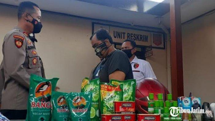 Oknum PNS Dindik Kota Madiun Curi Kecap hingga Deodorant, Tarik-tarikan Saat Ditangkap Kasir Toko