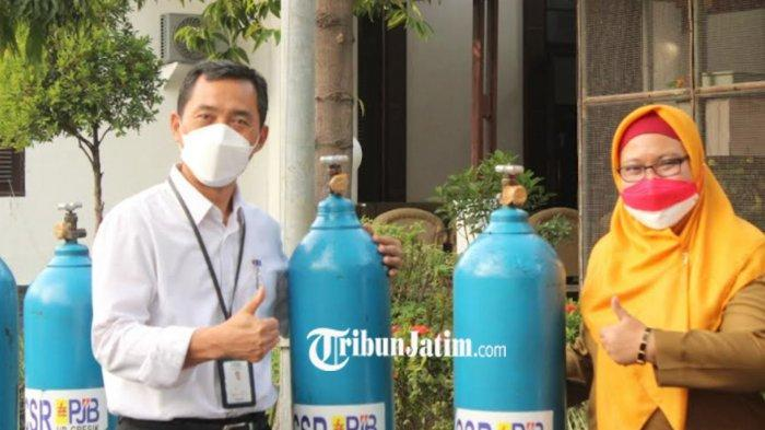 Bantuan Tabung Oksigen Terus Berdatangan Untuk Pemkab Gresik