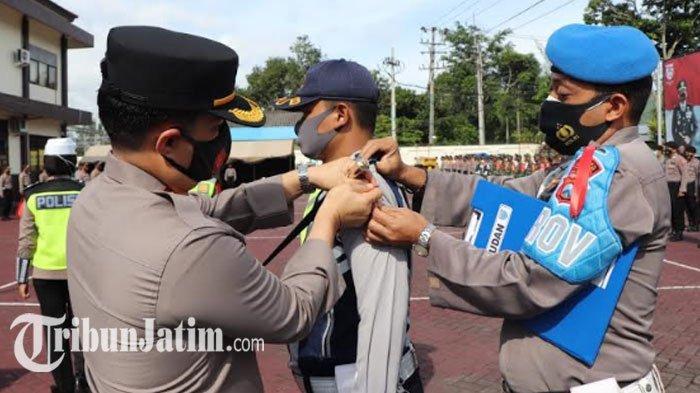 Kapolres Trenggalek Minta Jajaran Operasi Lilin Semeru Fokus: Jangan Muncul Klaster Akhir Tahun