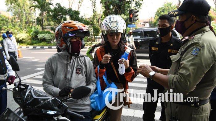 2590 Petugas Gabungan Siap Amankan Malam Tahun Baru 2021 di Surabaya, Cek Ruas Jalan yang Ditutup