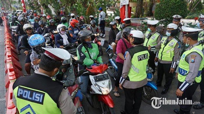 Hari Kelima Operasi Patuh Semeru 2019, Polrestabes Surabaya Jaring Ribuan Pelanggar