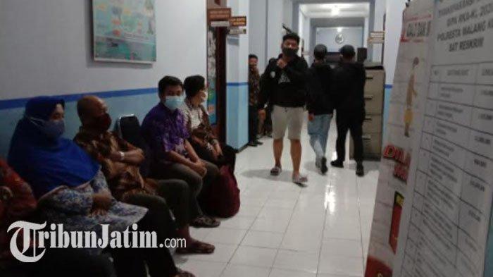 Seusai Lakukan Pemeriksaan, Polresta Malang Kota Mulai Pulangkan Pendemo Tolak Omnibus Law