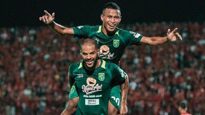 Hasil Bhayangkara FC Vs Persebaya, David da Silva Cetak Gol di Laga Debut, Bajul Ijo Menang 0-2