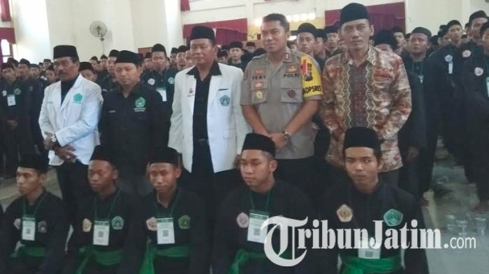 6 Pelaku Pelemparan Anggota Pagar Nusa Saat Latihan di MWC Kecamatan Sugio Lamongan Ditangkap
