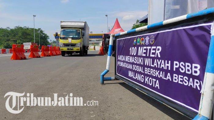 Mudik Dilarang, Tapi Mobilisasi Lalu Lintas di Malang Raya Diperbolehkan