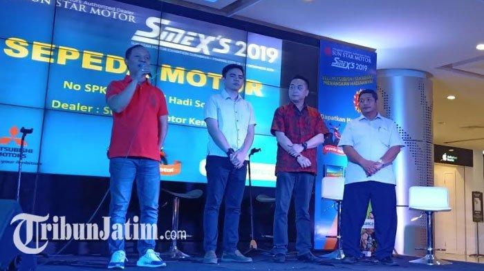 Pameran Otomotif Akhir TahunMitsubishi di Surabaya, Sun Star Motor Group Raih 30 SPK